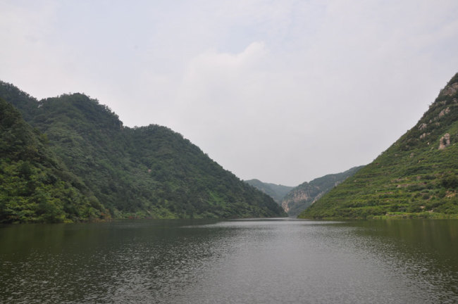 File photo shows the Longtangou reservoir in Rizhao City, east China's Shandong province. [Photo: Chinaplus]