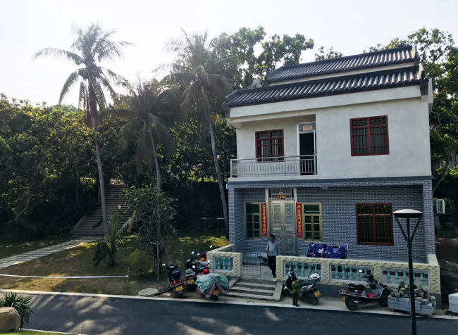 New houses belonging to villagers in Shamei village, Bo'ao, Hainan. [Photo: China Plus/Ge Anna]