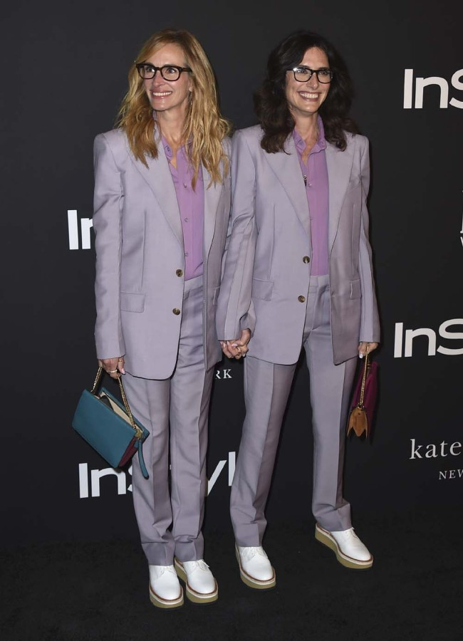 Julia Roberts Twins It With Her Stylist At The 2018 Instyle