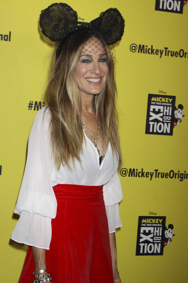"Sarah Jessica Parker at the grand opening of ""Mickey: The True Original Exhibition"" in New York City, November 7, 2018. [Photo: AP]"