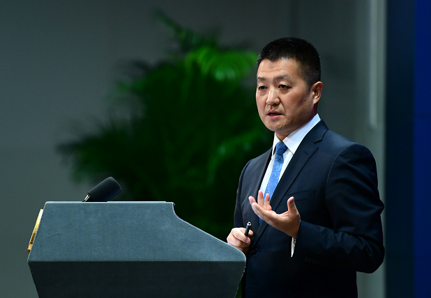 Chinese Foreign Ministry spokesperson Lu Kang. [File photo: CCTV]