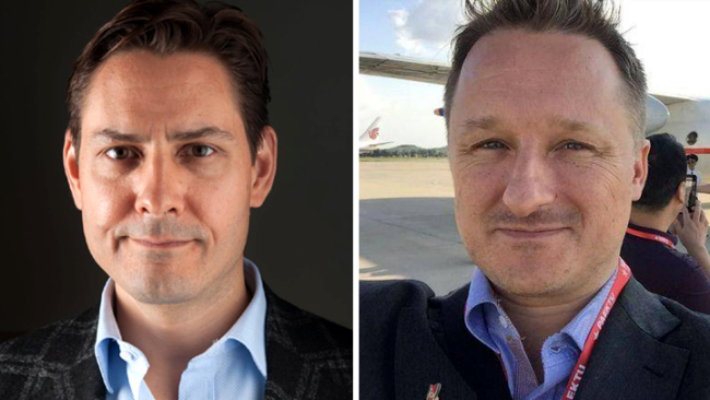 Canadian ex-diplomat Michael Kovrig (L) and Canadian businessman Michael Spavor [Photo: China Plus]