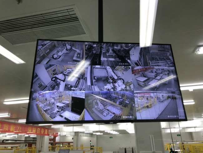 Screen shot shows operations at the Chint Group. [Photo: China Plus]