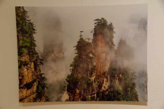 Landscape in Zhangjiajie taken by Claes Grundsten, famous Swedish landscape photographer in November, 2018. [Photo: China Plus]