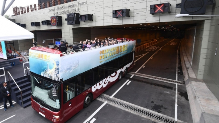 Wan Chai Bypass and Island Eastern Corridor Link completed