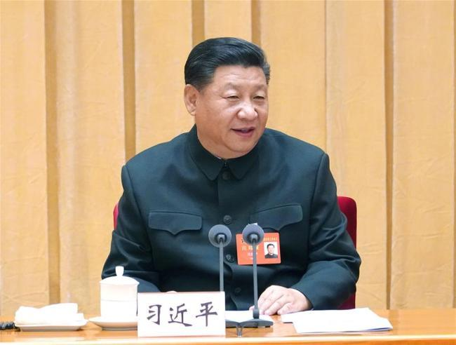 Chinese President Xi Jinping, also general secretary of the Communist Party of China (CPC) Central Committee and chairman of the Central Military Commission (CMC) [Photo: Xinhua]