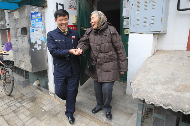 Wang Xinfeng: a well-known taxi driver in Beijing