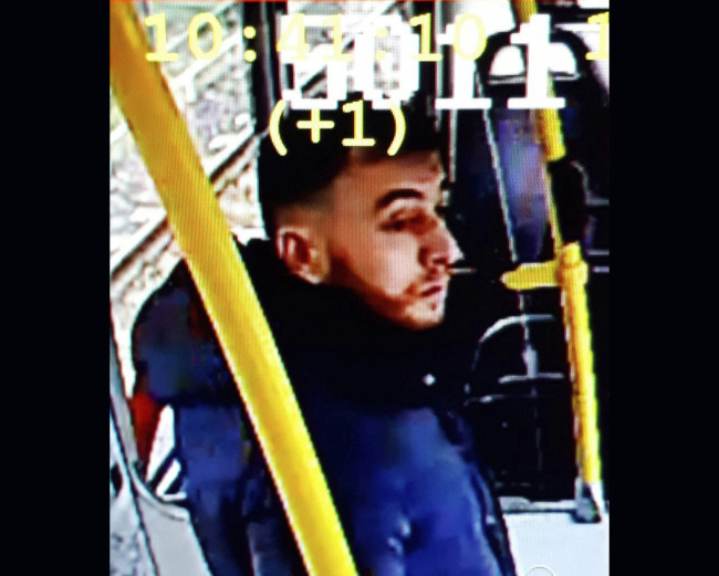 This image made available on Monday March 18, 2019 from the Twitter page of Police Utrecht shows an image of 37 year old Gokmen Tanis, who police are looking for in connection with a shooting incident on a tram. Police, including heavily armed officers, flooded the area after the shooting Monday morning on a tram at a busy traffic intersection in a residential neighborhood. [Photo: Police Utrecht via AP]