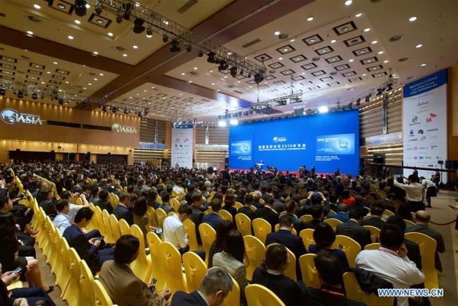 The Boao Forum for Asia (BFA) annual conference 2019 opens in Boao, south China's Hainan Province, March 28, 2019. [Photo:Xinhua]