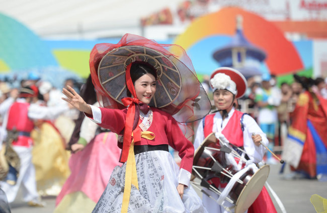 The Asian Civilization Parade kicks off in Beijing on Thursday, May 16, 2019. [Photo: IC]