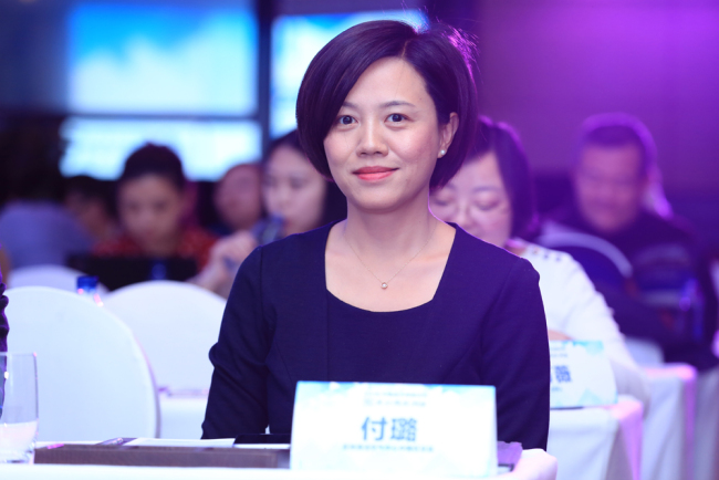 Fu Lu, the China director of Clean Air Asia, an international NGO that works for better air quality and healthier, more livable cities in Asia. [File photo provided for China Plus]