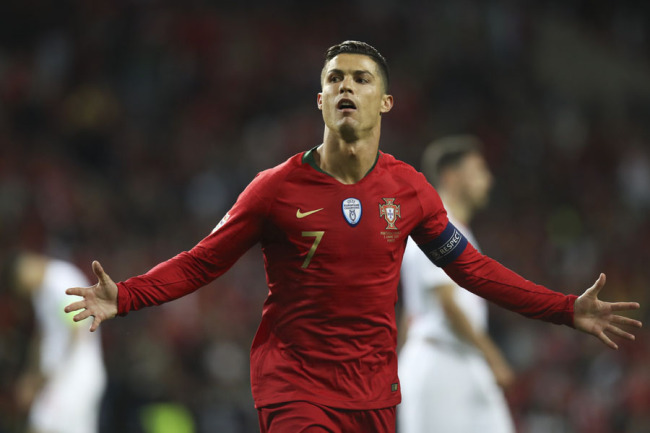 Ronaldo Scores Hat Trick To Take Portugal To Uefa Nations League Final China Plus