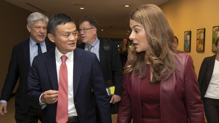 Jack Ma joins UN chief in discussion on global digital cooperation