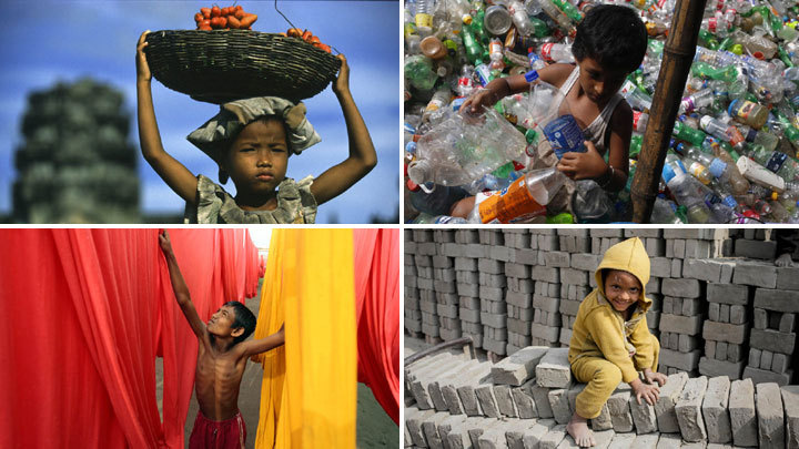 World reminded of the scourge of child labor