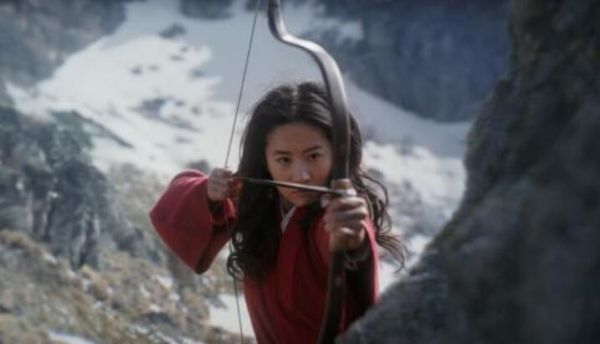 """A still picture of Crystal Liu in the leading role as Mulan in Disney's live-action film """"Mulan"""" [Photo:weibo.com]"""