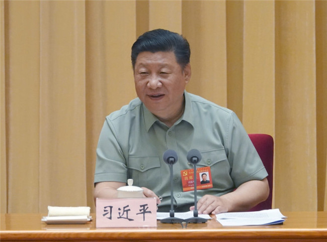 Xi Jinping, chairman of the Central Military Commission [File photo: Xinhua]