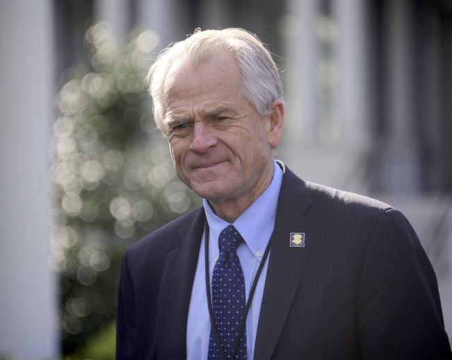 Director of the White House National Trade Council Peter Navarro. [File photo: IC]