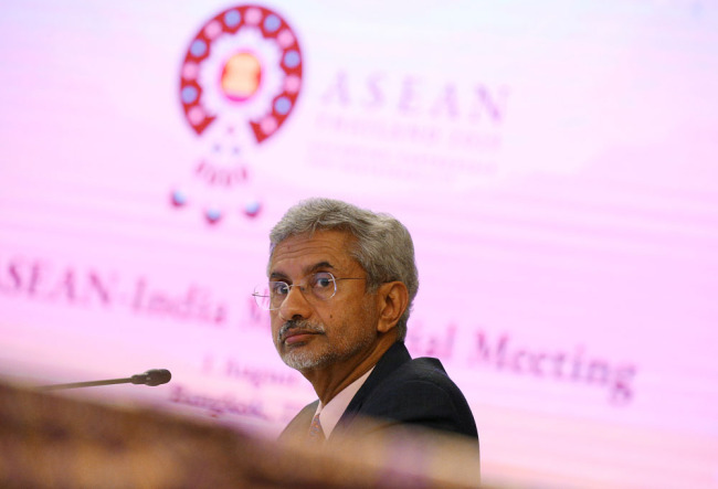 Indian External Affairs Minister Subrahmanyam Jaishankar [File Photo: Reuters via VCG]