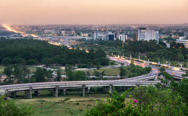 A view of Islamabad, capital of Pakistan. [File Photo: IC]