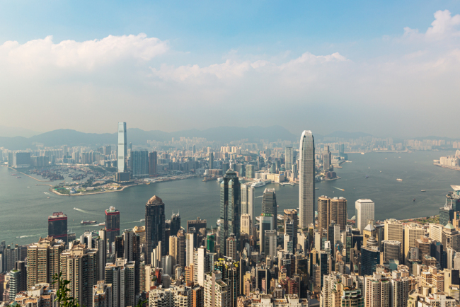 In their jointly-published 2019 ranking, the Cato Institute and the Fraser Institute listed Hong Kong as the freest economy in terms of economic freedom. The city ranked third after New Zealand and Switzerland in the category of human freedom, 14 places ahead of the United States. [Photo: IC]